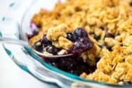 Ridiculously Easy Blueberry Crumble Recipe