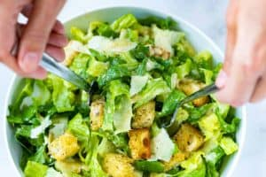 Homemade Caesar Salad Recipe