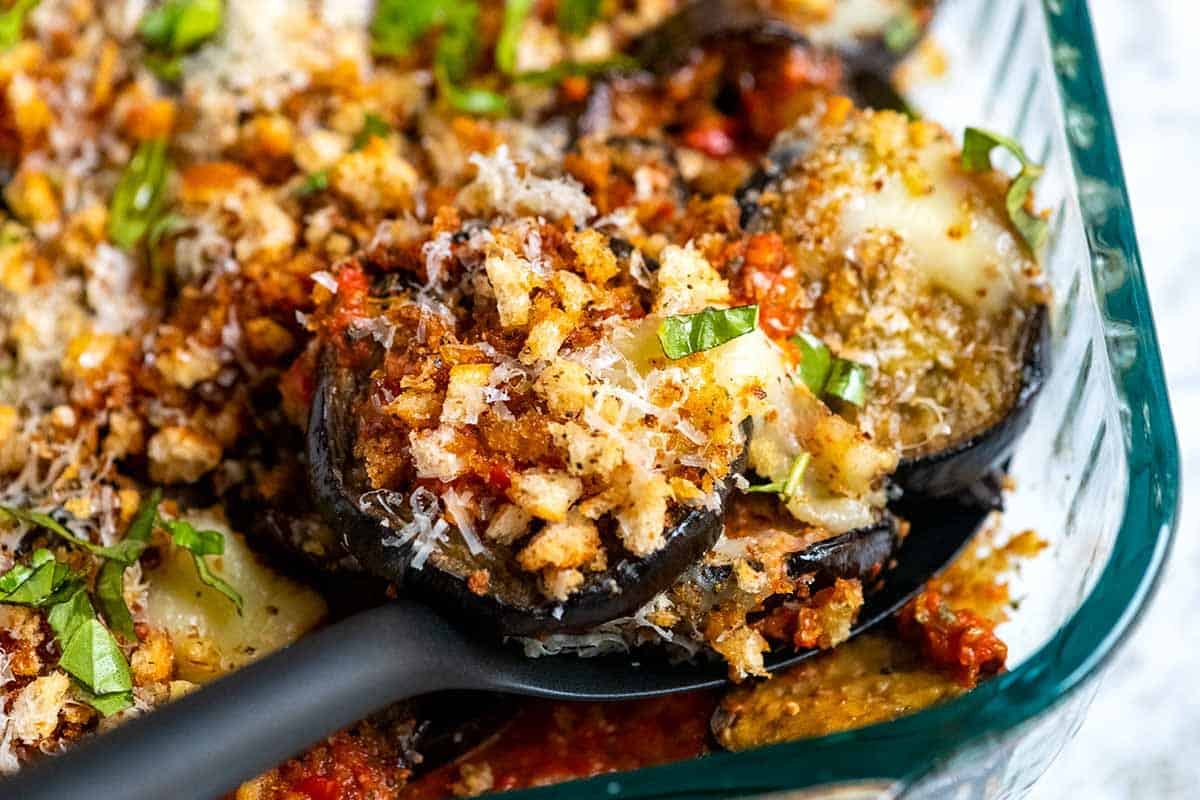 Our Favorite Eggplant Parmesan