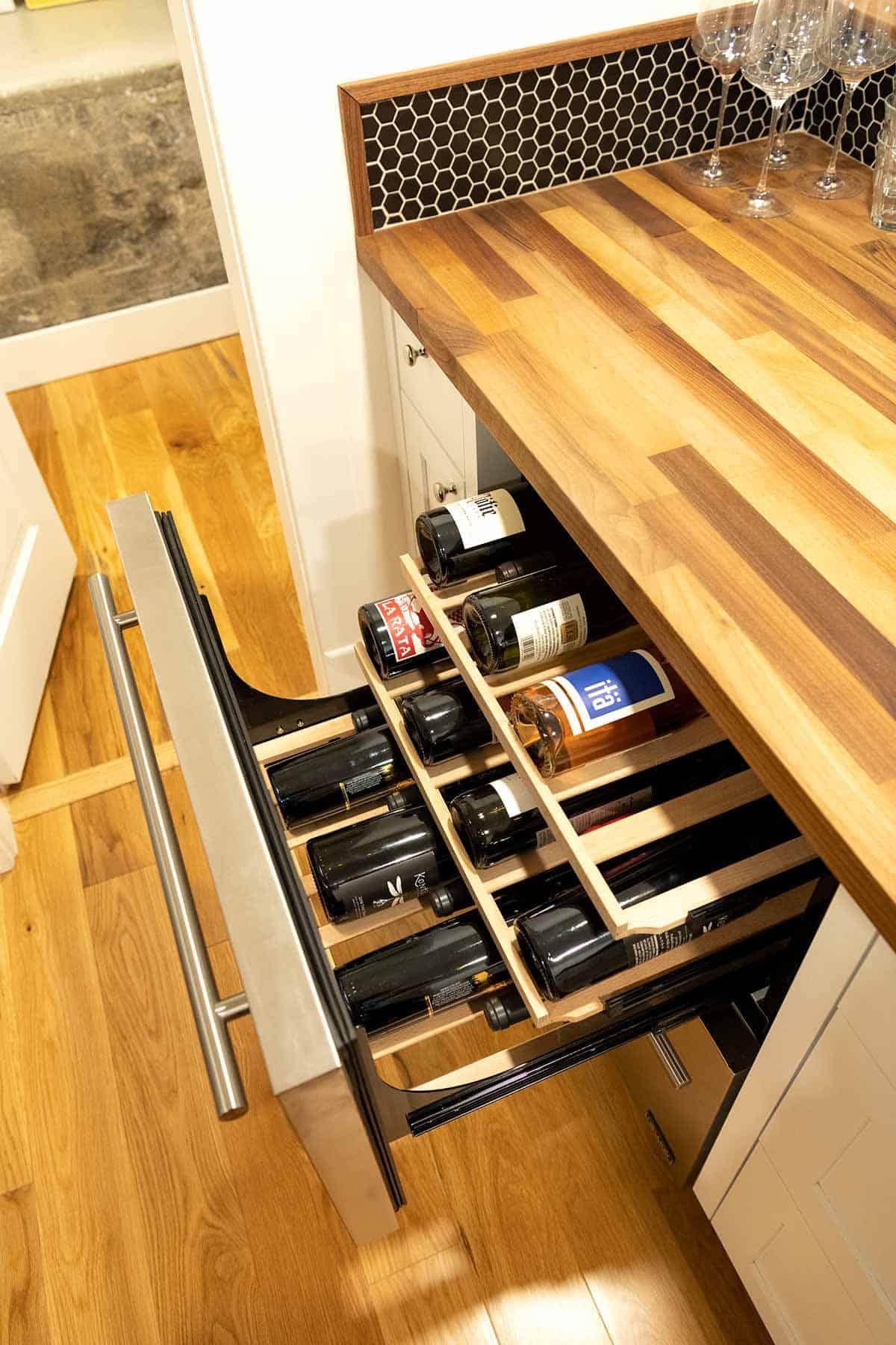 NewAir 24-inch wine fridge
