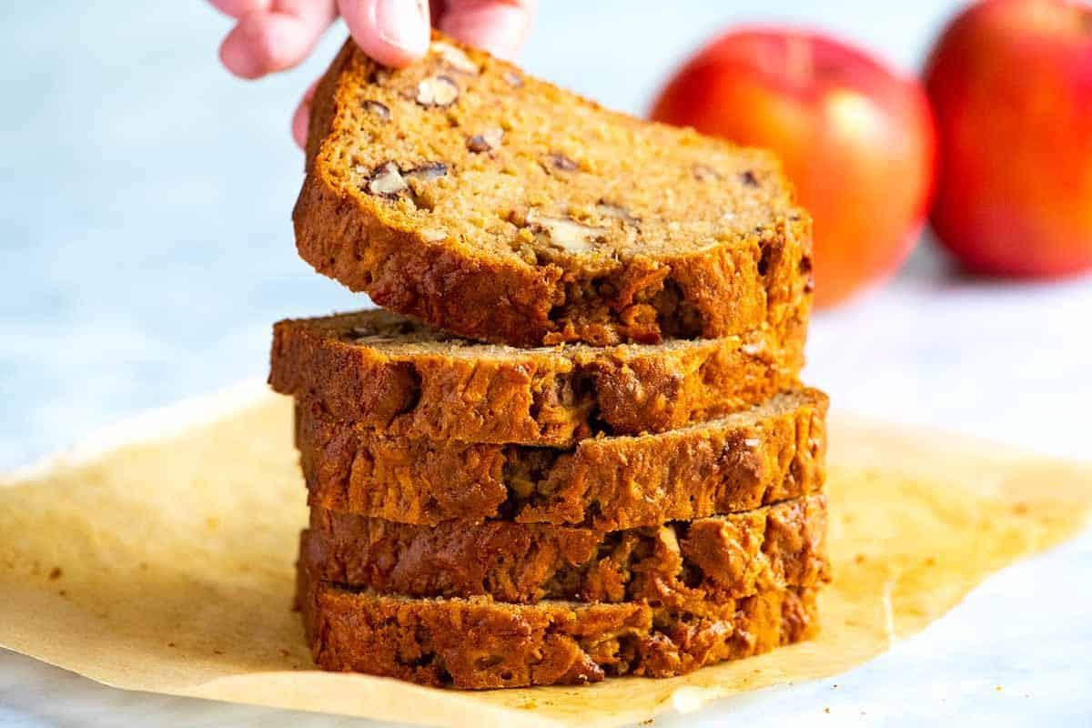 Cinnamon Spiced Apple Bread