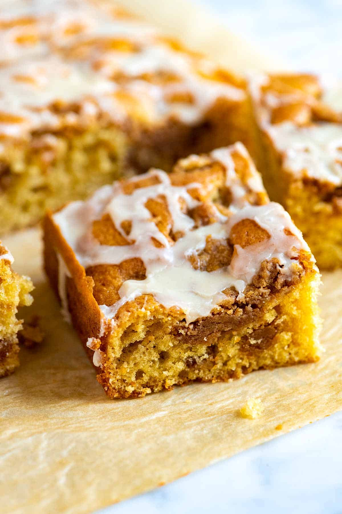 Coffee Cake with Brown Sugar Streusel