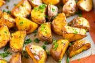 Our Favorite Oven Roasted Potatoes