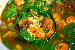 Homemade Italian Wedding Soup