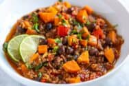 Ultra-Satisfying Vegetarian Chili Vegetarian Chili