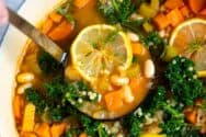 Vegetable and Bean Soup Recipe