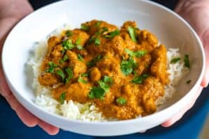 Indian Inspired Chicken Curry