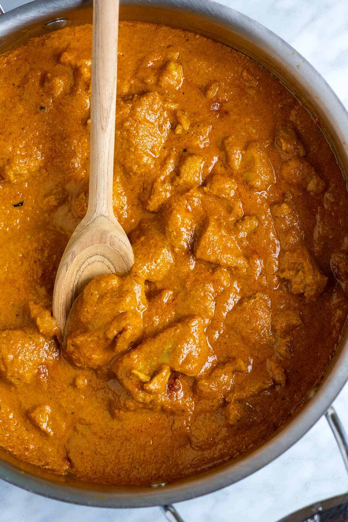 Indian-inspired chicken curry