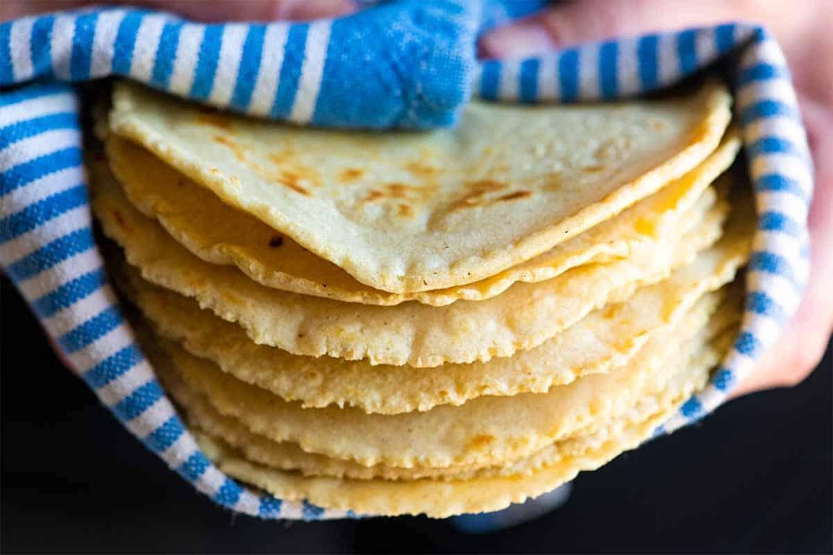 Our Favorite Soft Corn Tortillas