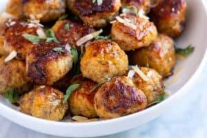 Tender Juicy Meatballs