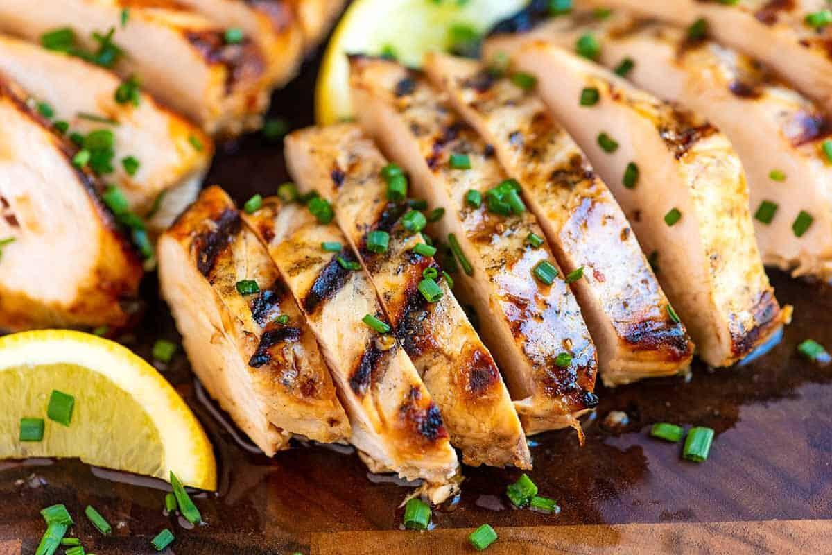 The Best Juicy Grilled Chicken